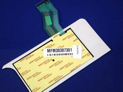 Клавіатура до мікрохвильової печі LG MH-6346QM,MH-6346QMB (MFM30387304), (MFM30387301)