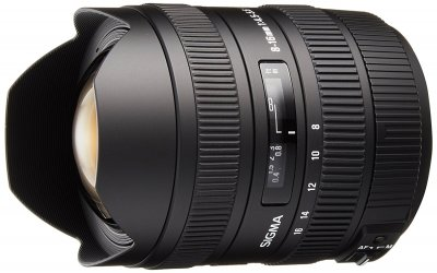 Sigma 8-16 mm f4.5-5.6 DC HSM for Sony