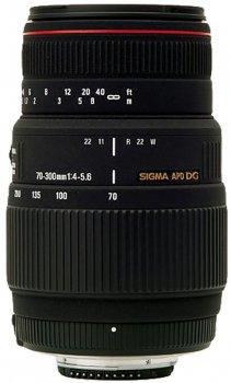 Sigma 70-300 mm f4-5.6 APO DG Macro for Canon
