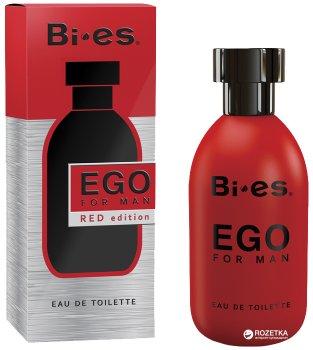 Туалетная вода для мужчин Bi-es Ego Red Edition Boss – Hugo red 100 мл (5905009042431)