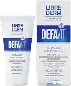 Крем Librederm Дефавит восстанавливающий и успокаивающий витаминный 50 мл (4620002185022)