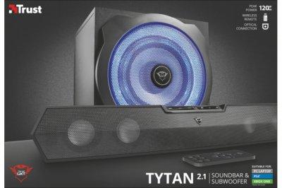 Саундбар з сабвуфером 2.1 Trust GXT 668 Tytan Black