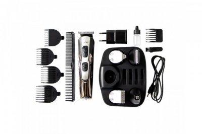 Машинка для стрижки волосся і бороди 10-в-1 професійна Gemei GM-592