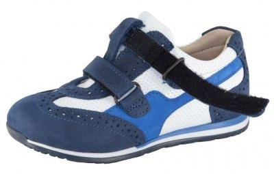 Кроссовки TOPITOP 300 для мальчиков Сине-белые.