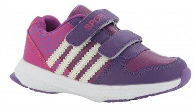 Кросівки Сонце 608 для дівчаток фіолетові