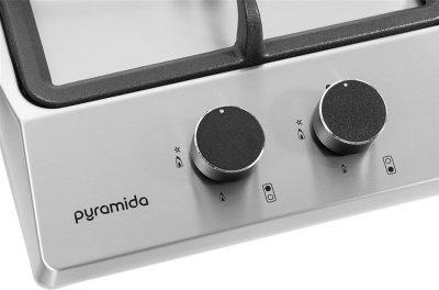 Варочная поверхность газовая Domino PYRAMIDA PFX 321 INOX