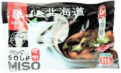 Смесь специй для супа мисо Hokkaido Club 6 порций 111 г (4823025900546)