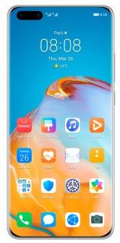 Мобільний телефон Huawei P40 Pro 8/256GB Silver Frost