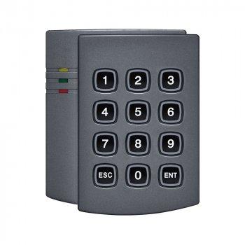 Автономний контролер для 1 двері з вбудованим зчитувачем PAR-EK3 Black