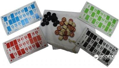 Лото Duke з дерев'яними бочечками у картонній упаковці (DN25046) (2000020241849)