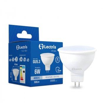 Лампа LED Lectris MR16 6W 4000K 220V GU5.3 (1-LC-1501)