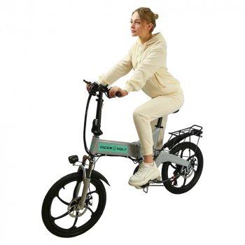 Електровелосипед ZM TigerVolt 20 сірий