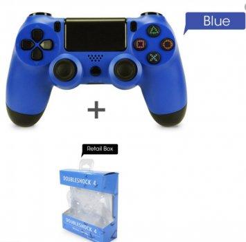 Беспроводной контроллер геймпад PS4 DoubleShock Wireless Sony синий