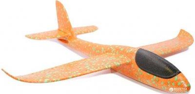 Самолёт Планер метательный Explosion Большой размах крыльев 49 см Оранжевый (2000992385435)