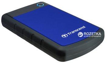 Жесткий диск Transcend StoreJet 25H3P 4TB 5400rpm 8MB TS4TSJ25H3B 2.5 USB 3.1 External Blue