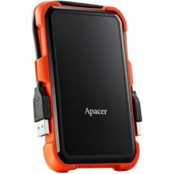 Зовнішній жорсткий диск 2.5 1TB Apacer (AP1TBAC630T-1) (WY36AP1TBAC630T-1)