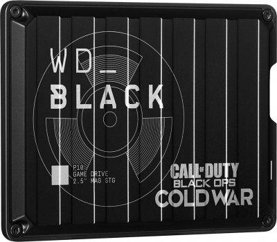 "Жорсткий диск Western Digital WD BLACK Call of Duty: Black Ops Cold War Special Edition P10 Game Drive 2 TB WDBAZC0020BBK-WESN 2.5"" USB 3.2 External Black"
