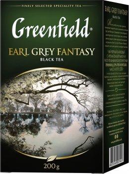 Чай черный Greenfield Earl Grey Fantasy 200 г (4823096801018)