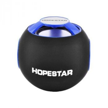 Портативна Bluetooth колонка MP3/SD/FM Hopestar H46 Blue/Вlack