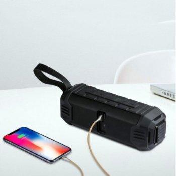 Портативна Bluetooth колонка Awei водонепроникна Чорна (Y-280)