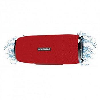 Портативна Bluetooth колонка Hopestar ORIGINAL Червона (A6)