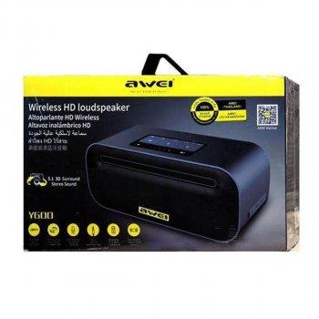 Колонка портативная Bluetooth Awei Awei Y600 Black (Черный)