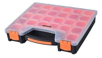 Органайзер Пластиковый Переносной с Ручкой Для(Мелочей)Метизов 31х27х6см 15 ячеек TACTIX 320012