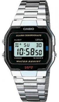 Чоловічі наручні годинники Casio A163WA-1QGF