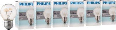 Лампа розжарювання Philips Stan 40 W E27 230 V P45 CL 6 шт. (926000006412S)