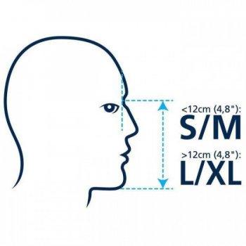 Маска для Плавания, Снорклинга, Дайвинга DiveIn L/XL с Сумкой, Чехлом для Телефона Зеленая