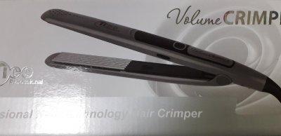 Професійний праску гофре для волосся Tico 100220 Volume Crimper Platinum 24 мм графіт Тіко,щипці, для обсягу, інструмент для завивки, випрямляч