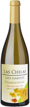 Вино Las Chilas Late Harvest Chardonnay белое полусладкое 0.75 л 12% (7808765731572)