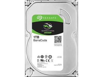 Накопитель HDD SATA 1.0TB Seagate BarraCuda 7200rpm 64MB (ST1000DM010)