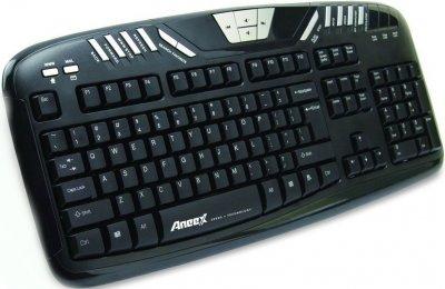 Клавиатура проводная Aneex E-K958 USB Black