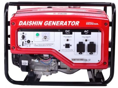 Бензогенератор Daishin SGB7001HSA