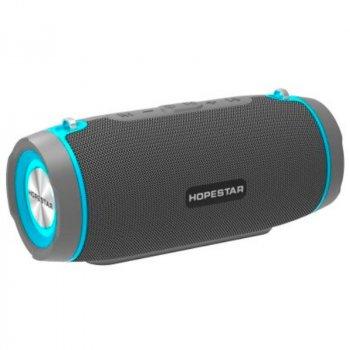 Портативна бездротова Bluetooth колонка Hopestar Hopestar H45 Party 10Вт Grey з вологозахистом IPX7 і функцією зарядки пристроїв (H45G)