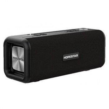 Портативна бездротова Bluetooth колонка Hopestar T9 10Вт Black з вологозахистом IPX6 і радіо (T9B)
