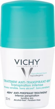 Дезодорант-антиперспирант Vichy шариковый 48 часов 50 мл (3337871320300)