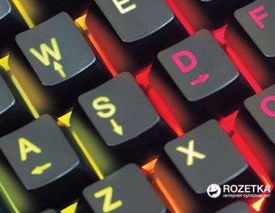 Клавіатура дротова Real-El Gaming 8900 RGB Macro USB (EL123100025)