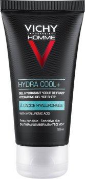 Увлажняющий гель Vichy Homme Hydra Сool с охлаждающим эффектом для контура глаз 50 мл (3337875586078)