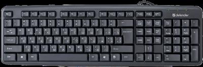 Клавиатура проводная Defender Element HB-520 USB (45529)