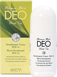 Шариковый дезодорант для мужчин Bema Cosmetici Bio Deo Wood Tea 50 мл (8010047112224)