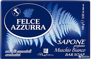 Мыло Felce Azzurra Muschio Bianco 100г (8001280029912)