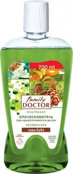 Ополаскиватель для полости рта Family Doctor Кора дуба 700 мл (4823080001592)