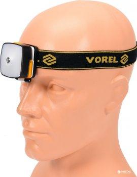 Ліхтар налобний світлодіодний VOREL XPE CREE (88677_vorel)