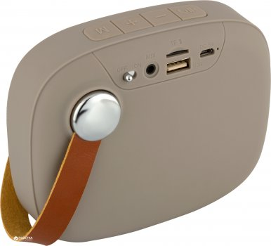 Акустична система Atrix T4 FM Light-Brown (akbt4lbr)