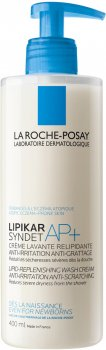 Крем-гель La Roche-Posay Lipikar Syndet АР очищающий для лица и тела 400 мл (3337875537315)