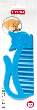 Расческа детская Кошечка Titania 1816 Синяя (4008576317023_blue)
