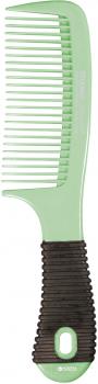 Расческа для волос с резиновой ручкой Titania 1812/6 Зеленая (4008576181266_green)