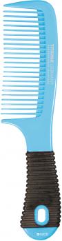 Расческа для волос с резиновой ручкой Titania 1812/6 Синяя (4008576181266_blue)